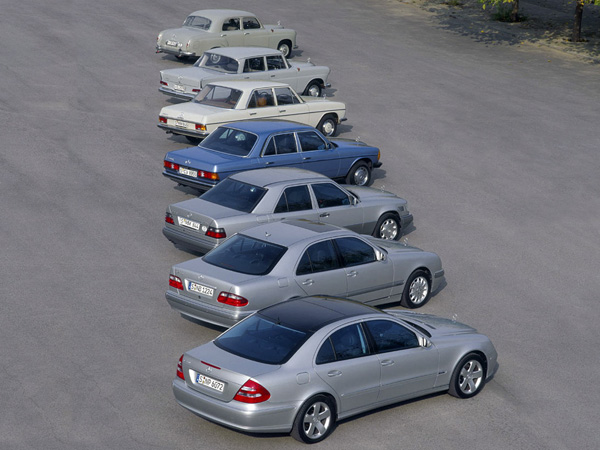 Mercedes E-class - All Models